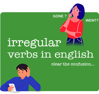 Irregular Verbs in English with Examples