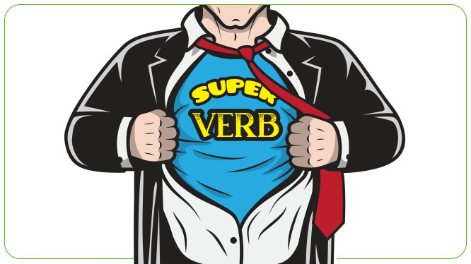 Verb types in English with examples